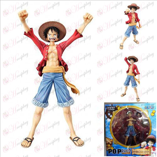 POP Luffy - 2 years after Packed One Piece Accessories