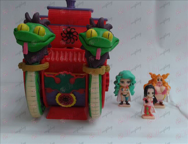 Female Emperor boat (money box)