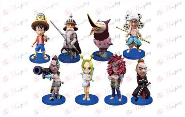 53 on behalf of eight One Piece Accessories (WCF19 empty island after the article) 8CM