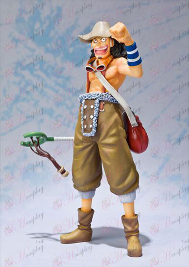 zero Usopp -2 years after the One Piece Accessories Boxed hand to do (15cm)