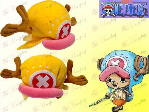 One Piece Tilbehør Nye Chopper hat appelsin
