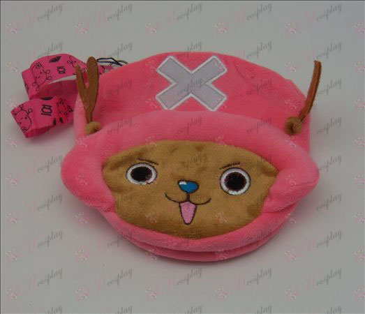 Duplex Chopper Plush Coin Purse