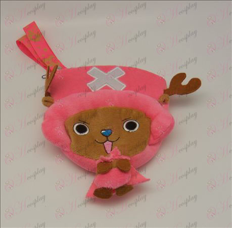 Única cadeia Chopper Plush Coin Purse