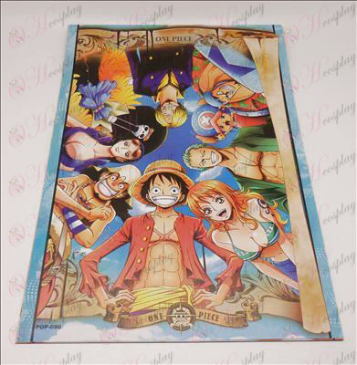 42/29One Piece Accessories Two years later embossed posters (8 / set)