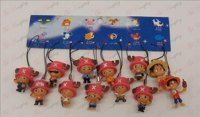 12 de One Piece Acessórios Strap (3,5 4,5 cm)
