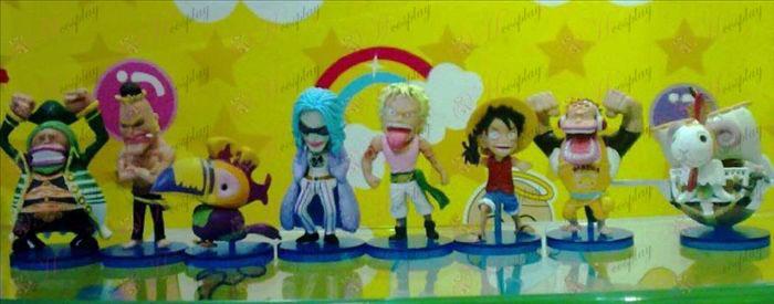 50 namens acht One Piece Accessoires Doll
