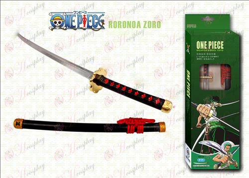 One Piece Accessories Autumn hardcover black knife knife 24cm