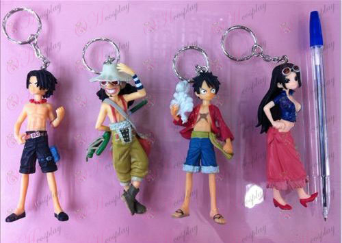 Two years later four models genuine pirate doll (Keychain)