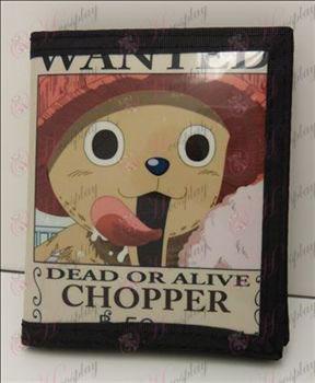 Chopper PVC pénztárca
