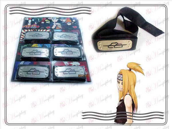 Xiao szervezet 6 telepített Naruto fejpánt (Dida) fekete