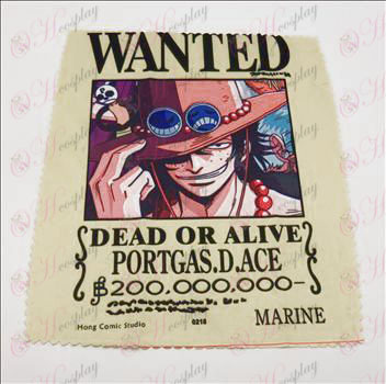 Glasögon trasa (One Piece Tillbehör0218) 5 ark / set