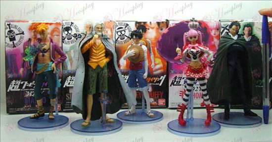 4 Generation 5 modeller One Piece Tillbehör docka vagga