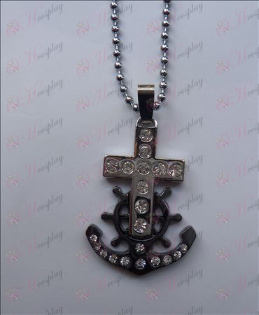Blister One Piece Tillbehör Anchor Necklace