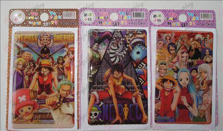 One Piece Accessories jelly sticker (10 / set)