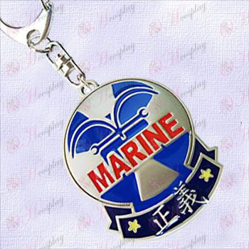 One Piece Accessories-Navy Badge of Justice hanging buckle