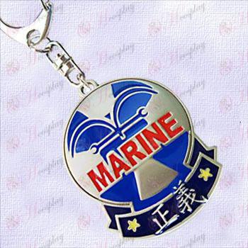 One Piece Αξεσουάρ-Navy Badge Δικαιοσύνης κρέμεται πόρπη