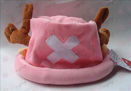 Chopper plush hat (pink)