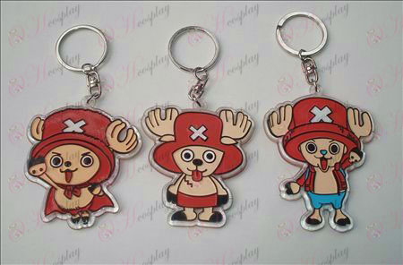 One Piece Αξεσουάρ οργανικά Keychain (6 / set)