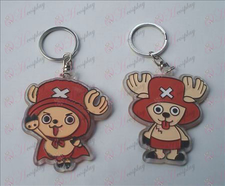 One Piece Accessori organico Portachiavi Chopper (6 / set)