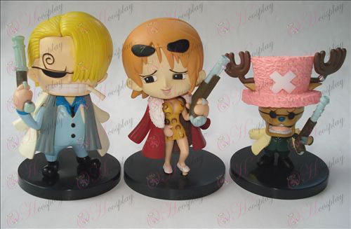 (3) One Piece Accessories Doll (