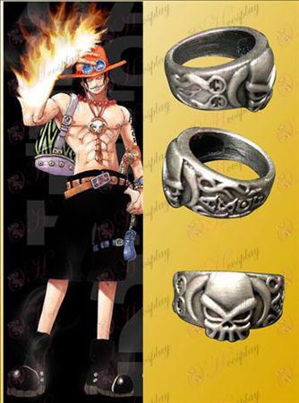 One Piece príslušenstvo Exelon vlajka Ring nainštalovaná karta