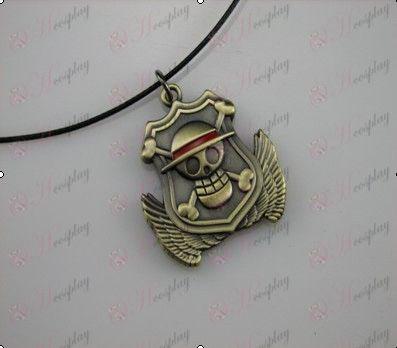 One Piece Zubehör Medal Halskette