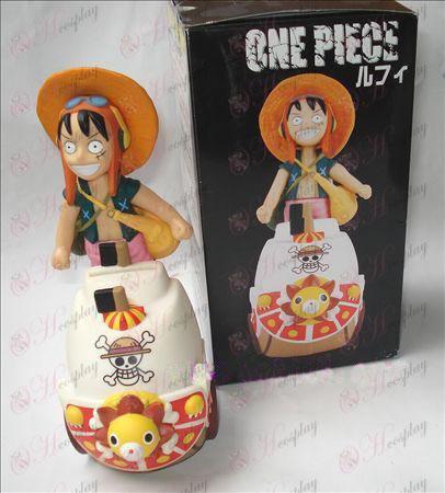 One Piece Αξεσουάρ Luffy κούκλα Κουμπαράς (Sonne 15 cm)