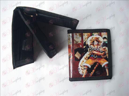 Luffy PVC αλυσίδες πορτοφόλι