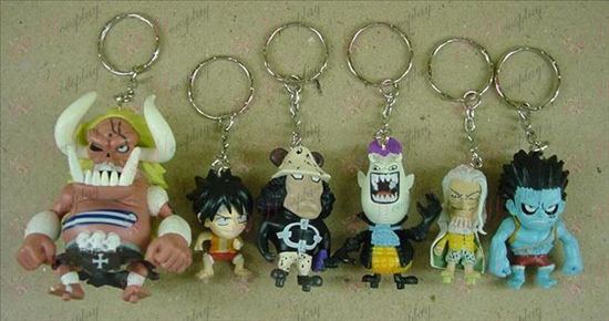 43 nevében One Piece Kiegészítők Kulcstartók