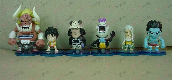 43 nevében az alap 6 One Piece tartozékok