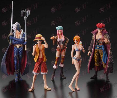 42 Generation 5 modeller One Piece Tilbehør Doll (lille POP s supernova serien)