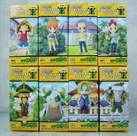 41 menom ôsmich One Piece Doll Príslušenstvo