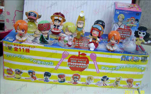 10 Frutta Partito One Piece Accessori Doll