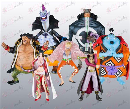 40 pirates on behalf of seven models (seven Wu Hai) Doll