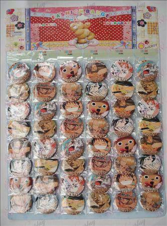 One Piece Аксесоари Брошки (48 / плоча)