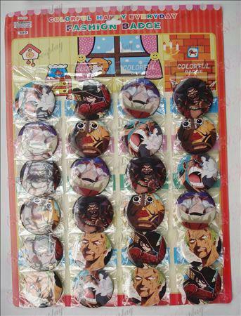 One Piece Аксесоари Брошки (24) 5,8 см