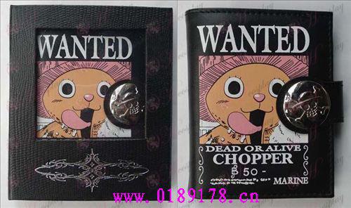 One Piece Accessoires Chopper wallet (kleur)