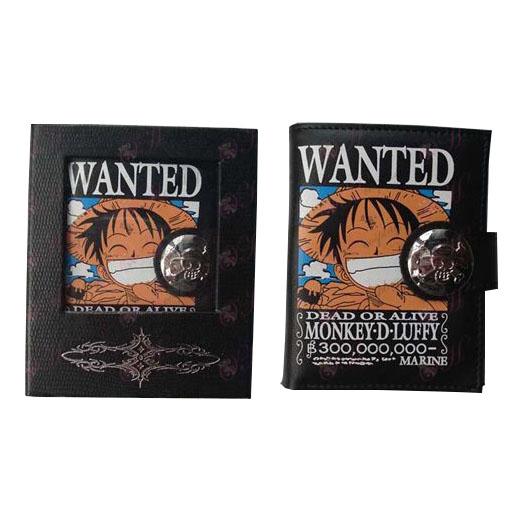 One Piece Accessoires Luffy wallet (kleur)