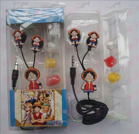 One Piece accessoires Hoofdtelefoon (Luffy)