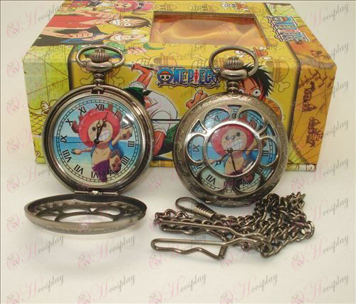 One Piece Accessoires Chopper holle zakhorloge + Kaarten