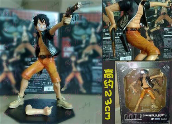 Pistol Luffy-One Piece Accessories Boxed big hand to do