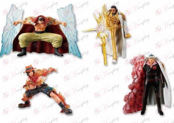 36 Generatie 4 modellen One Piece Accessoires Doll