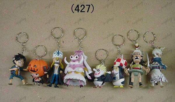 38 on behalf of eight One Piece Accessories Keychains (427)