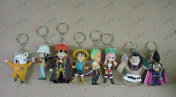 A34-generation eight One Piece Accessories Keychains (431)