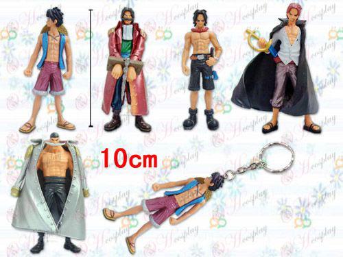 36 Generation 5 modeller One Piece Tilbehør Nøgleringe