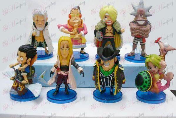 34 på vegne af otte One Piece Tilbehør Doll