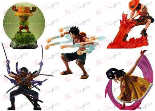 33 Generation 5 models pirate boxing (6-10cm Jane)