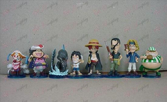 35 בשמם של שמונה בסיס One Piece אבזרים