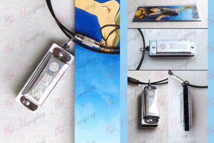 One Piece accessoires harmonica collier