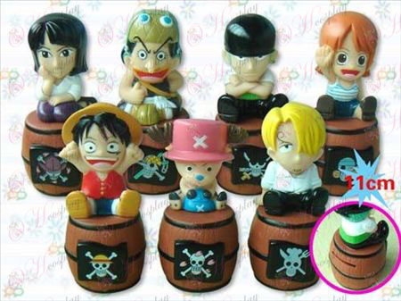 One Piece Accessories sit barrel piggy doll (7)